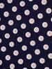 Dzianinowa sukienka z szyfonowymi rękawkami i plisami 30133