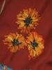 Elegancka bluzka z szarfą do wiązania na szyi 30566