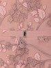 Elegancka suknia z koronkowym topem, pudrowa kreacja maxi 23767