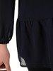 Elegancka szyfonowa bluzka z falbaną 21732