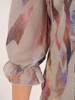 Elegancka wiosenna sukienka, kreacja z falbanami 28135