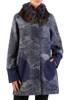 Jesienny płaszcz z ozdobnym futerkiem 27101