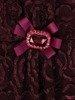 Koronkowa kreacja maxi, piękna sukienka w odcieniu fioletu 23862