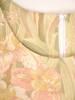 Luźna sukienka z przewiewnej tkaniny w modny, kwiatowy wzór 30424
