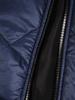 Niebieska kamizelka z kapturem 30996