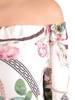 Oryginalna bluzka, tunika z gumką przy dekolcie 29497