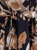 Prosta sukienka z paskiem 25947
