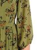 Rozkloszowana sukienka, modna kreacja w kwiatowy wzór 30673