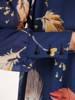 Sukienka damska z długim rękawem, zwiewna kreacja w oryginalnym wzorze 28938
