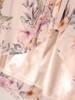 Sukienka szyfonowa, modna kreacja z wiązaniem na dekolcie 28174