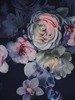 Sukienka w kwiaty, prosta kreacja z tkaniny 26652