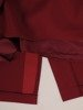 Sukienka wyjściowa, bordowa kreacja z koronki i tkaniny 25692