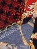 Sukienka z dzianiny, prosta kreacja w oryginalnym wzorze 26213