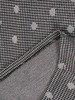 Sukienka z dzianiny, wyszczuplająca kreacja z kołnierzem 24153