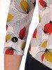 Sukienka z imitacją żakietu, prosta kreacja z ozdobnym kołnierzem 25325