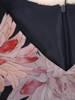Sukienka z szyfonu, zwiewna kreacja w kwiaty 26957