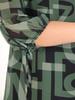 Szyfonowa, zwiewna bluzka z ozdobnymi rękawami 31209