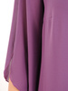 Trapezowa sukienka zdobiona tasiemkami z cekinów 30774