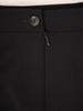 Trzyczęściowy komplet damski, czarna garsonka z koronkową bluzką 30455