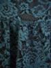 Wizytowa sukienka z koronki, kreacja w modnym odcieniu zieleni 30063