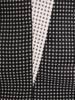 Wyszczuplająca sukienka, kreacja z kontrastowymi wstawkami 27351